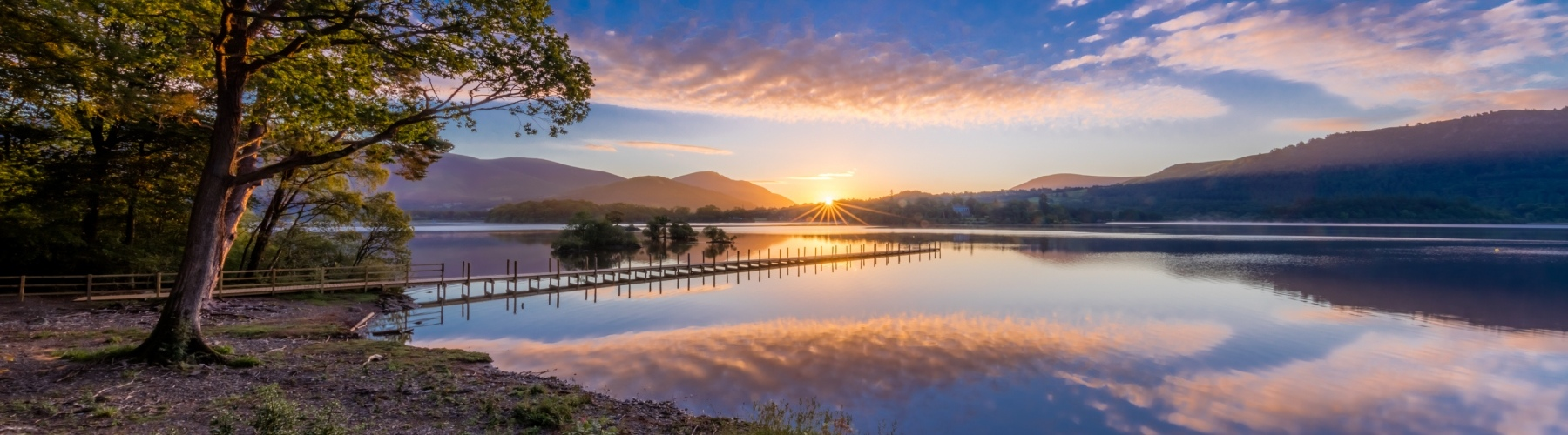 Dawn over Derwent Water